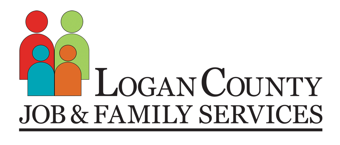 Logan County Jobs and Family Services logo